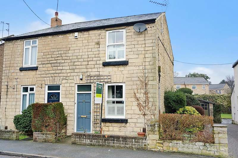 2 Bedrooms Semi Detached House for sale in Grove Road, Boston Spa, LS23