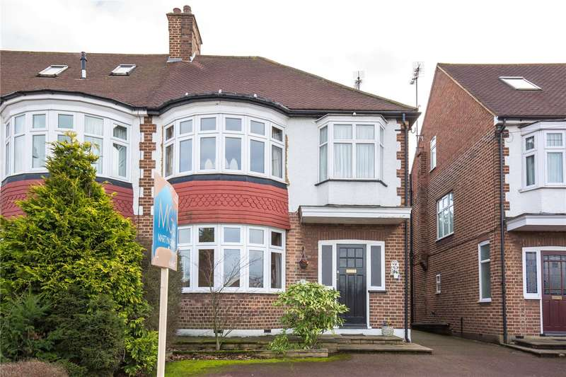 3 Bedrooms Semi Detached House for sale in Winchmore Hill Road, Winchmore Hill, N21