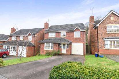 4 Bedrooms Detached House for sale in Fernwood Close, Redditch, Worcestershire