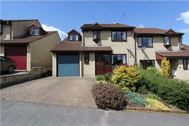 4 Bedrooms Semi Detached House for sale in St. Marys Rise, Writhlington, RADSTOCK, Somerset, BA3 3PD