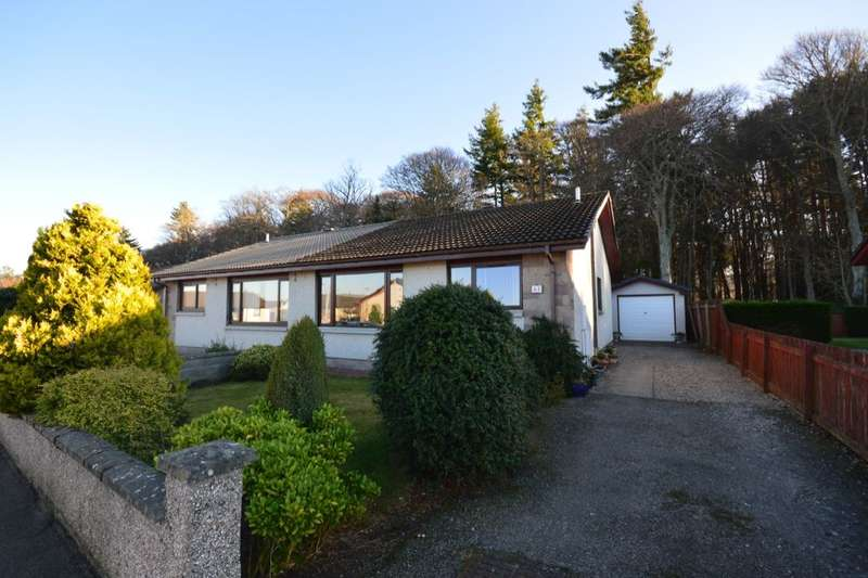 2 Bedrooms Semi Detached Bungalow for sale in Drumdevan Road, Inverness, IV2