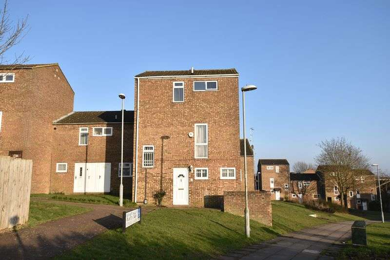 3 Bedrooms Terraced House for sale in Petersfield Gardens, Luton