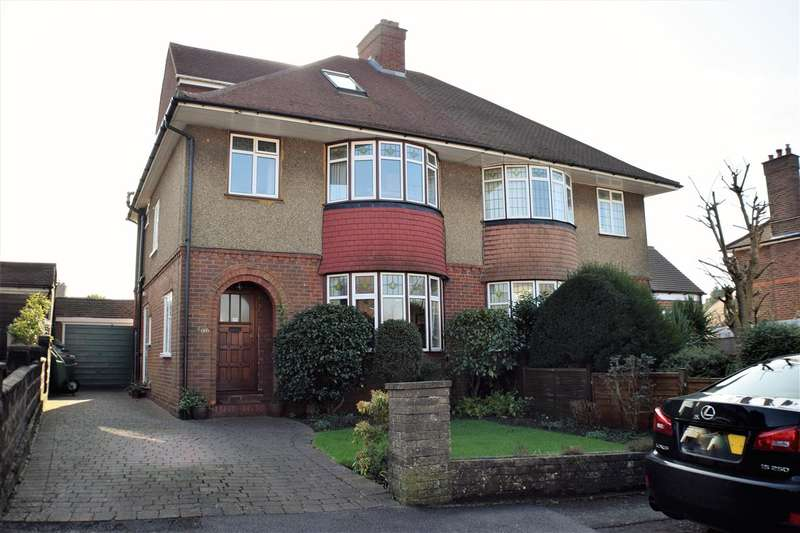 4 Bedrooms Semi Detached House for sale in Redstone Manor, Redhill