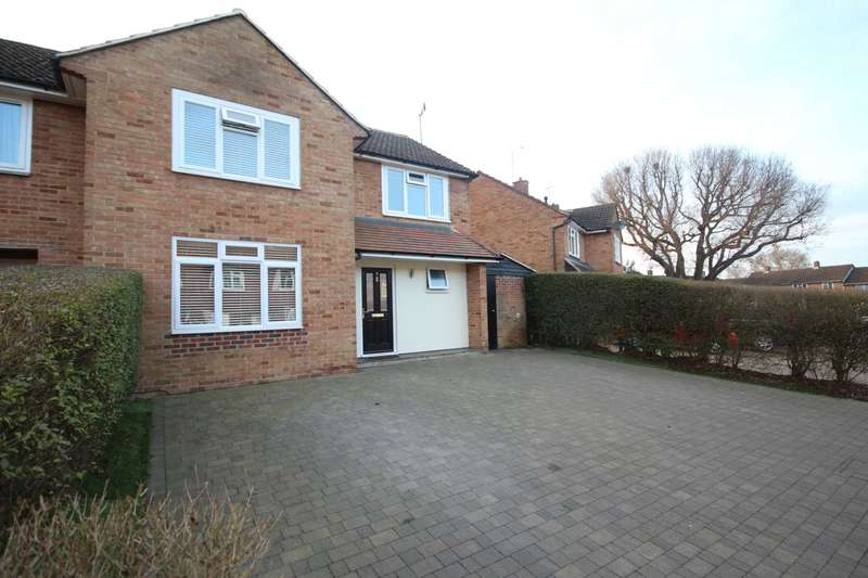 4 Bedrooms Semi Detached House for sale in Hart Close, Priestwood