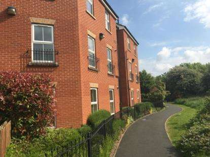2 Bedrooms Flat for sale in Cherry Tree Court, Nantwich, Cheshire