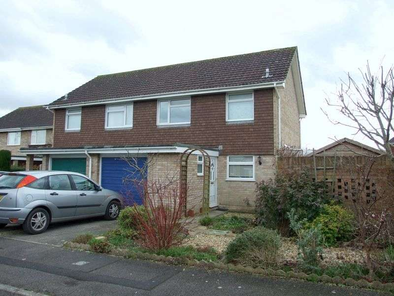 3 Bedrooms Semi Detached House for sale in Biss Meadow, Trowbridge