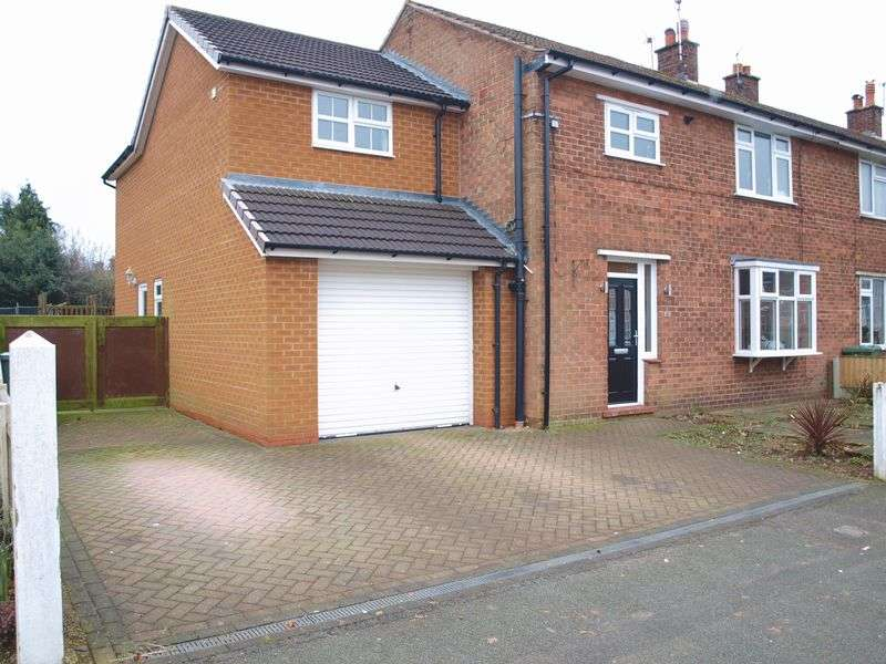 4 Bedrooms Semi Detached House for sale in Ash Road, Sandiway, CW8 2NU