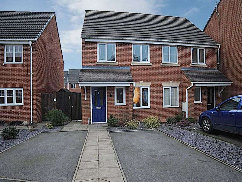 2 Bedrooms Semi Detached House for sale in Bannock Street, Weston Heights, Stoke-On-Trent, ST3 6SL