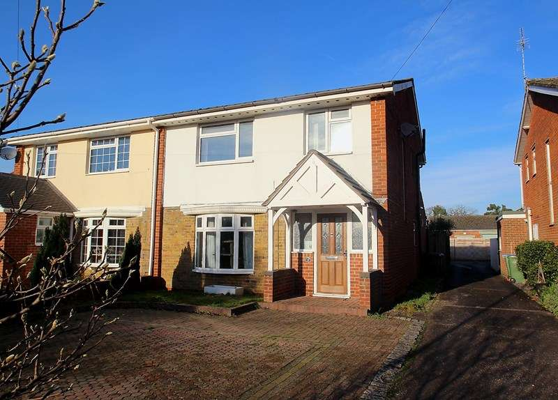 3 Bedrooms Semi Detached House for sale in Catisfield Lane, Fareham