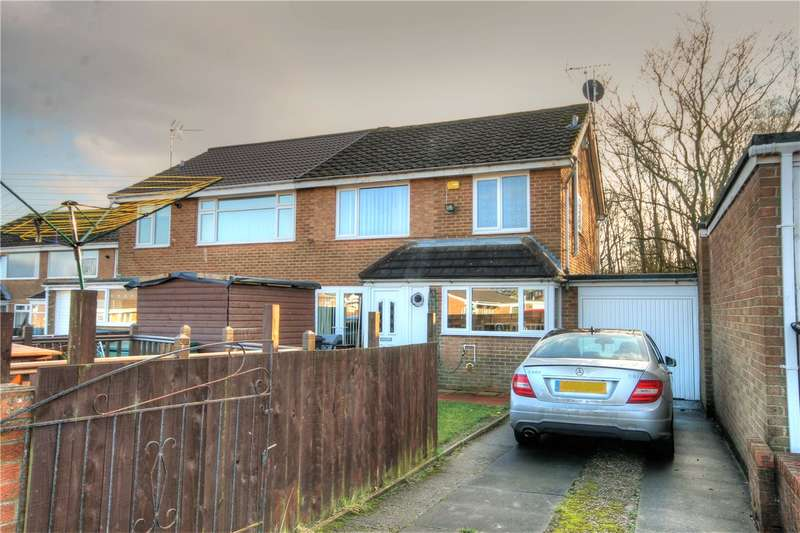 3 Bedrooms Semi Detached House for sale in Courtney Drive, Perkinsville, Chester le Street, DH2