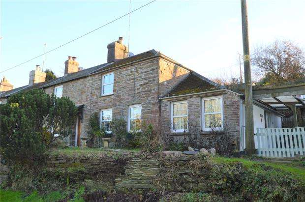 2 Bedrooms End Of Terrace House for sale in The Terrace, Polbathic, Torpoint, Cornwall