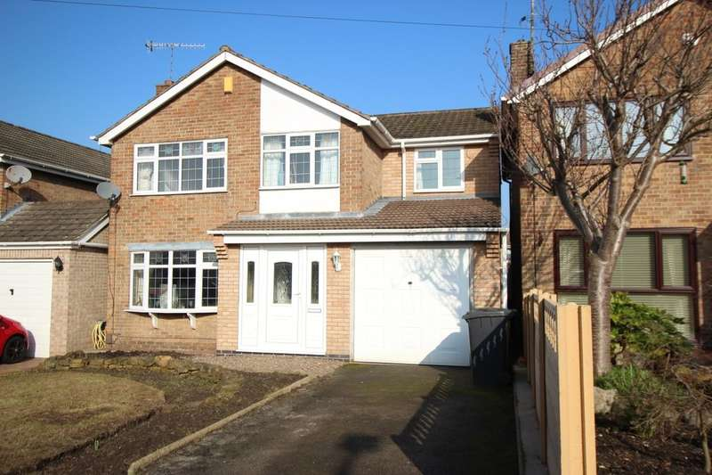 4 Bedrooms Detached House for sale in Hawthorne Rise, Awsworth, Nottingham, NG16