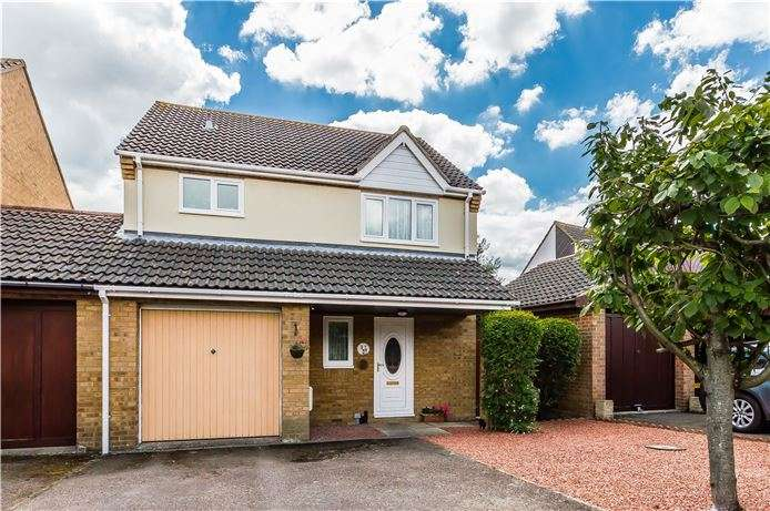 3 Bedrooms Link Detached House for sale in Ward Way, Witchford