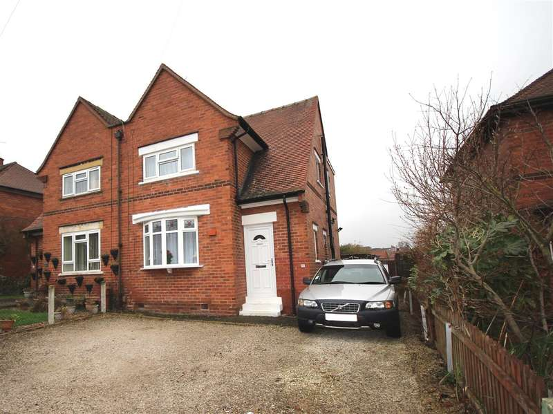 3 Bedrooms Semi Detached House for sale in Glebe Crescent, Ilkeston