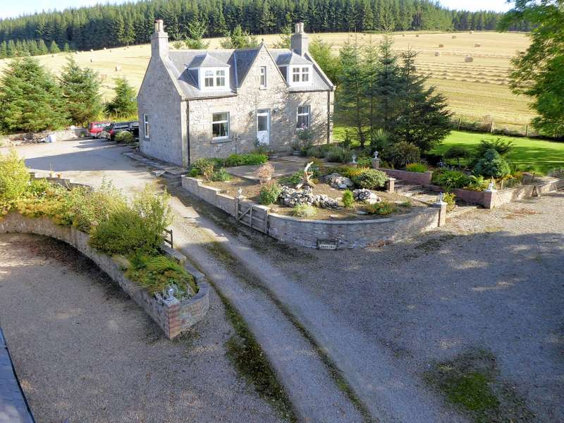 4 Bedrooms Detached House for sale in Ardoch Lodge Mulben, Keith, AB55 6XN