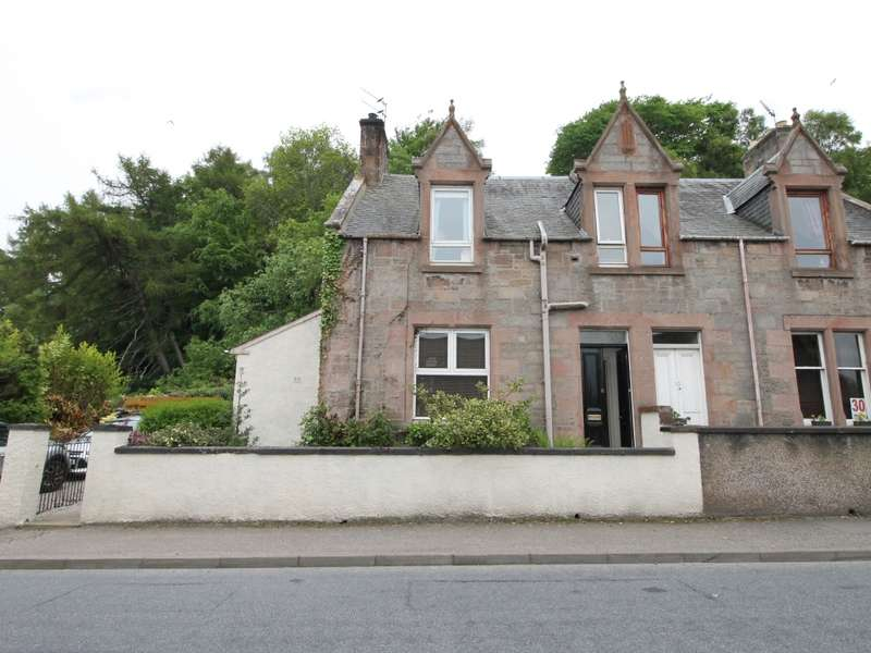 2 Bedrooms Semi-detached Villa House for sale in 8 High Street, Clachnaharry, Inverness, IV3 8RB