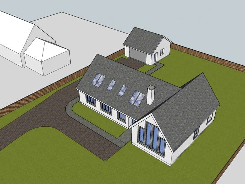 4 Bedrooms Detached Bungalow for sale in Plot 4 Achnabreck, Lochgilphead, PA31 8SG