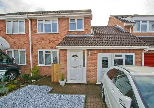 4 Bedrooms Semi Detached House for sale in GLASTONBURY, Somerset