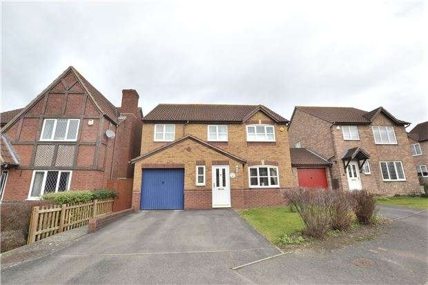 4 Bedrooms Detached House for sale in Meerbrook Way, Quedgeley, GLOUCESTER, GL2 4QE