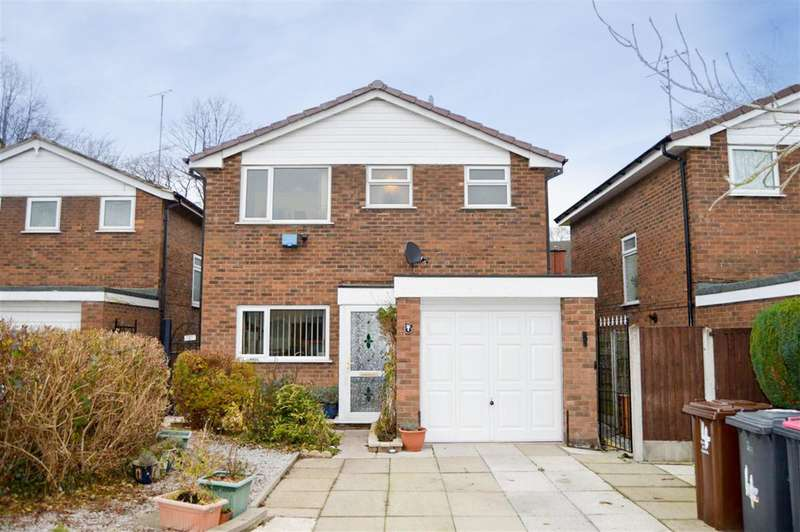 3 Bedrooms Detached House for sale in Heathfield, Worsley, Manchester, M28 2PX