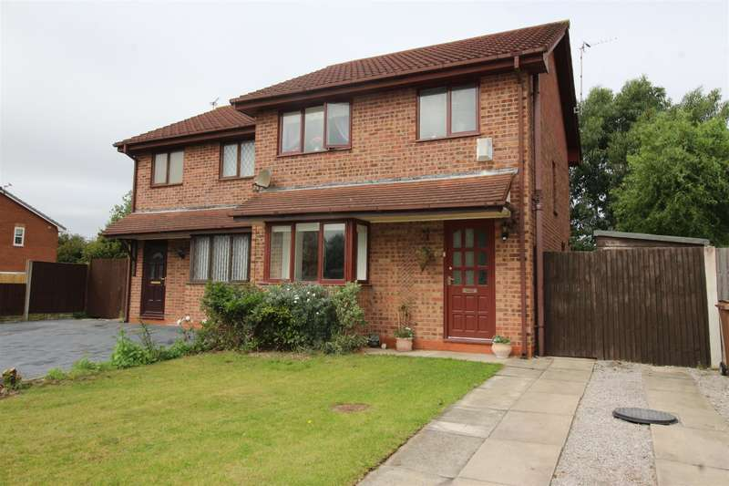 3 Bedrooms Semi Detached House for sale in Tanworth Grove, Moreton, Wirral, CH46 6JG