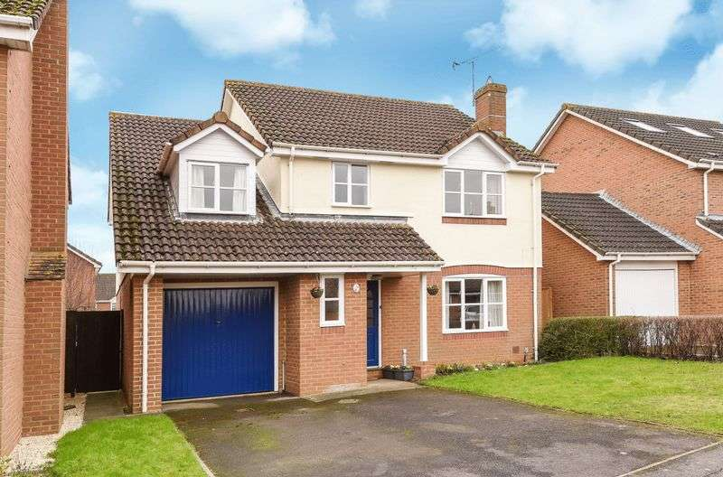 4 Bedrooms Detached House for sale in Mons Way, Abingdon