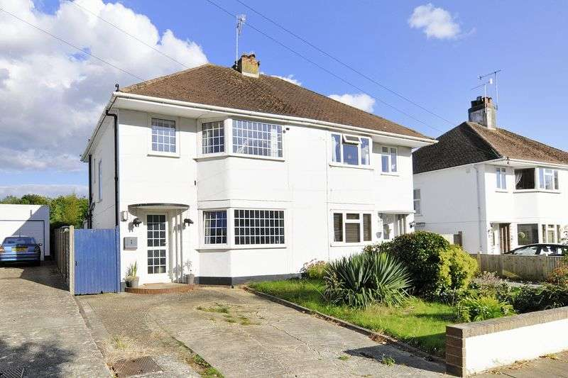 3 Bedrooms Semi Detached House for sale in Beeches Avenue, Worthing
