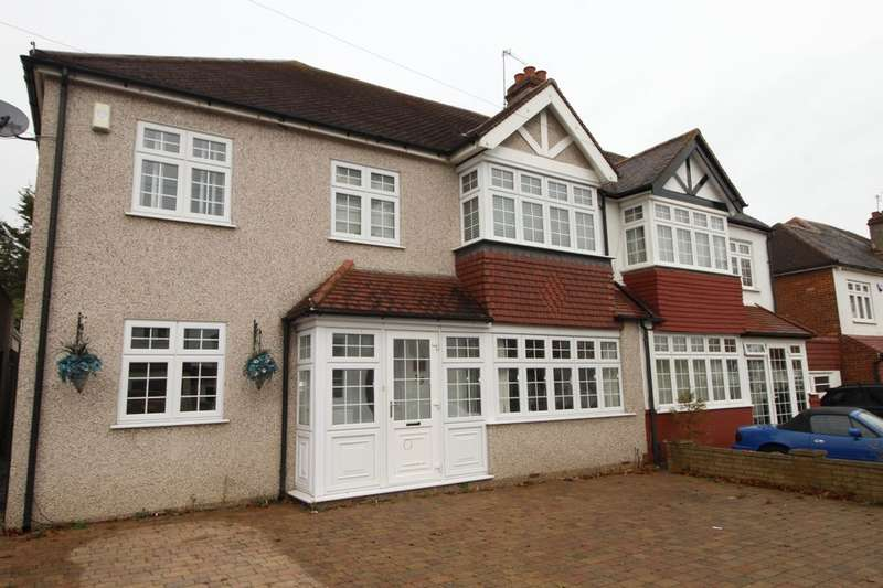 5 Bedrooms Semi Detached House for sale in Hilbert Road, Cheam, Sutton, SM3