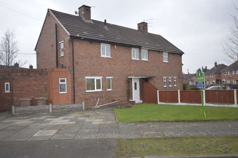 2 Bedrooms Semi Detached House for sale in Consett Road, Blurton, Stoke-On-Trent, ST3