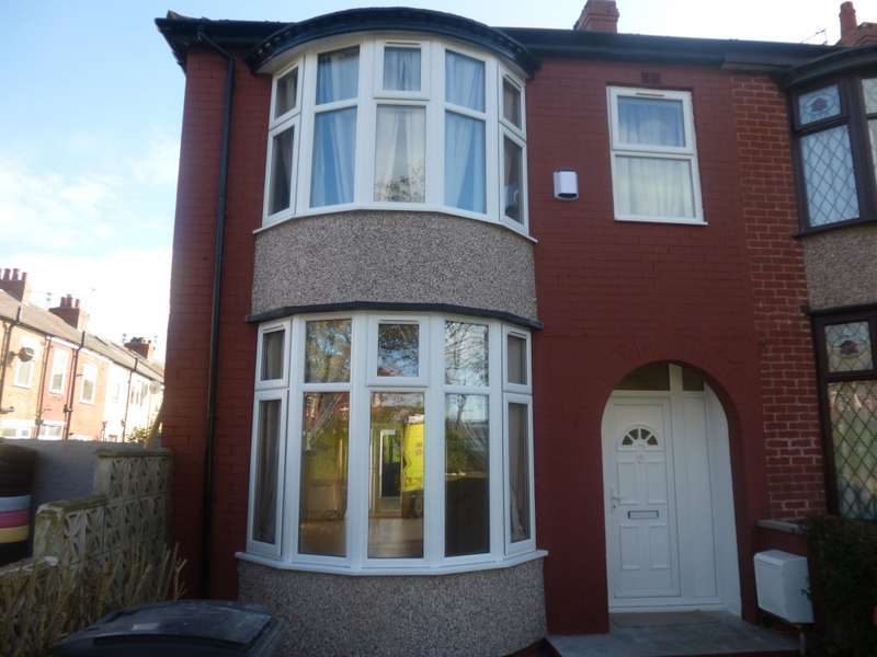 3 Bedrooms End Of Terrace House for sale in Mayor Avenue, Blackpool