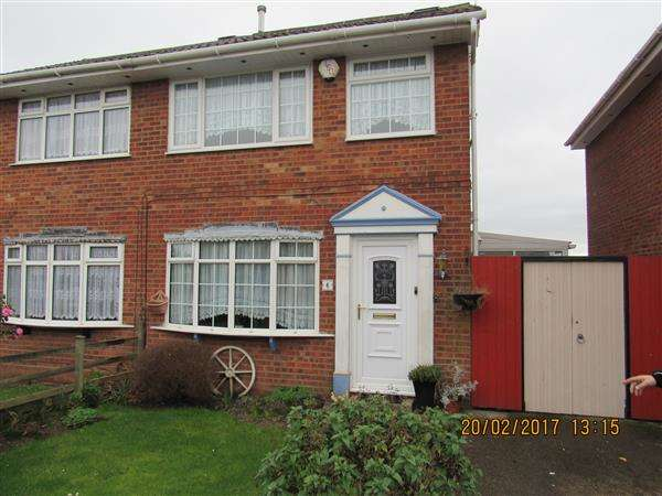 4 Bedrooms Semi Detached House for rent in Alnwick Drive, Moreton