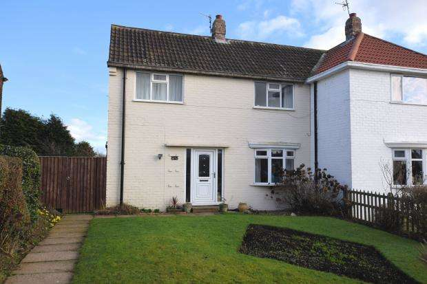 2 Bedrooms Semi Detached House for sale in Holme Hill, Eastfield, Scarborough, North Yorkshire YO11 3LF