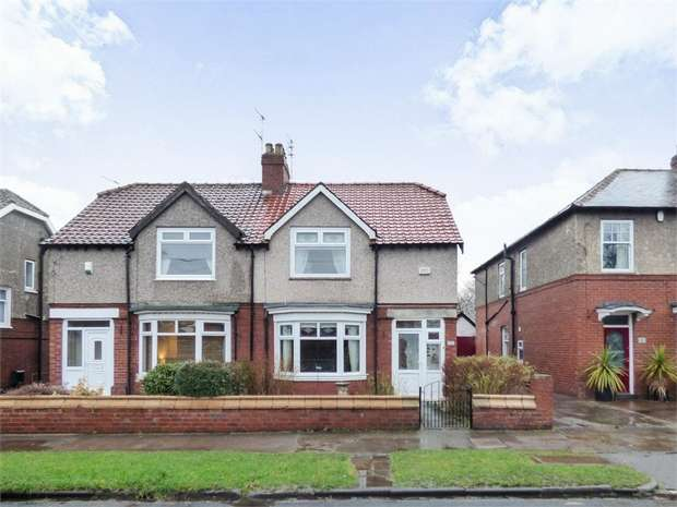 2 Bedrooms Semi Detached House for sale in Holmlands Park, Chester le Street, Durham