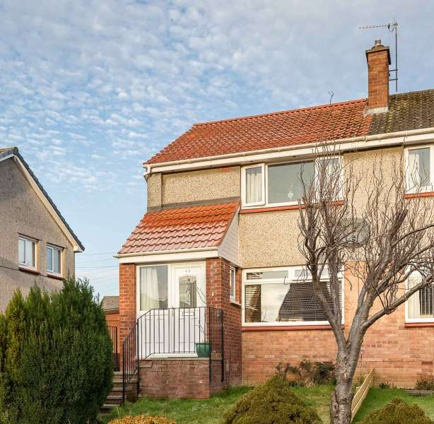 2 Bedrooms Semi-detached Villa House for sale in Birch Grove, Dunfermline, Fife, KY11 8BE