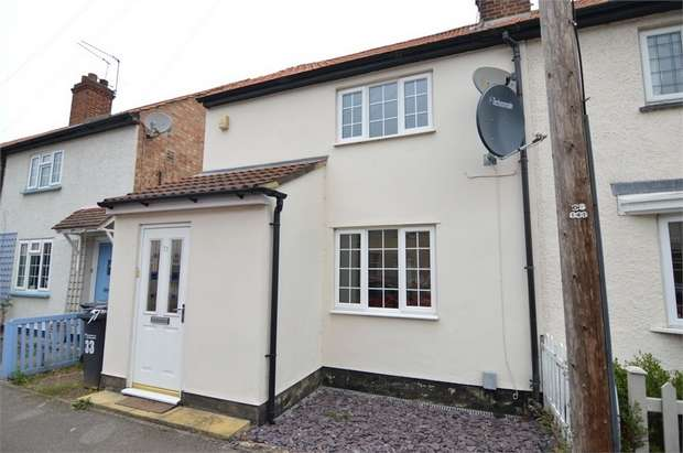 2 Bedrooms End Of Terrace House for sale in Dewhurst Road, Cheshunt, Hertfordshire
