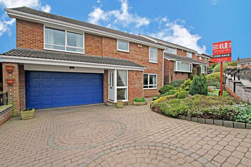 5 Bedrooms Detached House for sale in Woodfoot Road, Moorgate, Rotherham