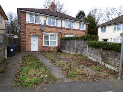 3 Bedrooms Semi Detached House for sale in Ruskin Grove, Acocks Green, Birmingham, West Midlands