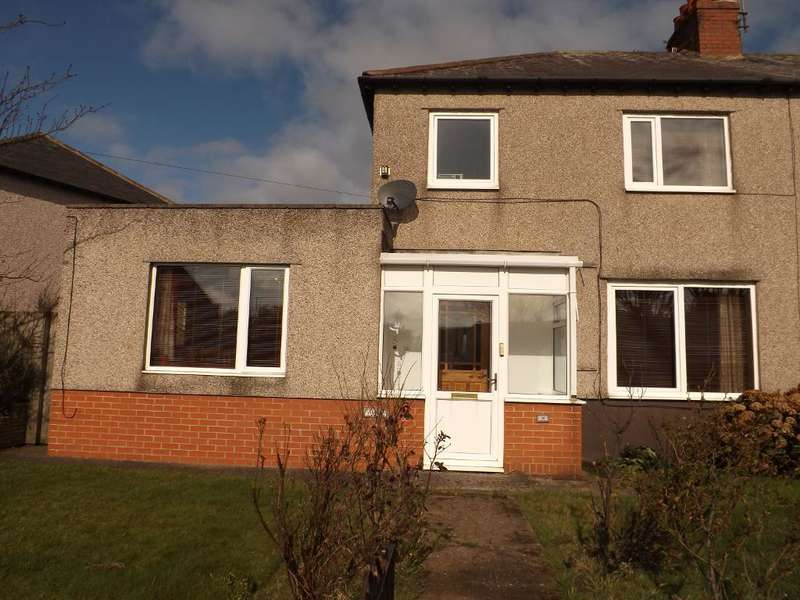 3 Bedrooms Semi Detached House for sale in Acklington Road, Amble, Morpeth, Northumberland, NE65 0NF