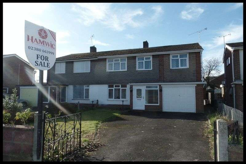 4 Bedrooms Semi Detached House for sale in Greenfields Avenue, Totton