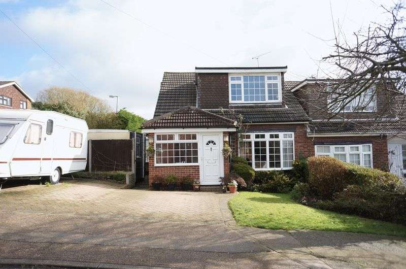 3 Bedrooms Semi Detached House for sale in Hill Road, Benfleet