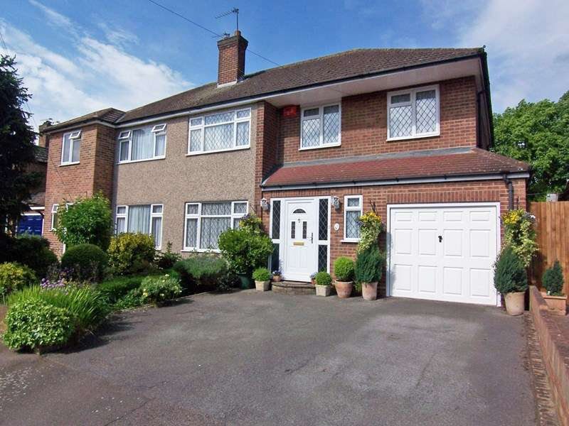 5 Bedrooms Semi Detached House for sale in Briarley Close, Broxbourne