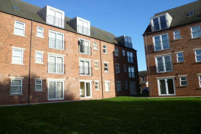 2 Bedrooms Flat for sale in Willow Tree Close, Lincoln, LN5