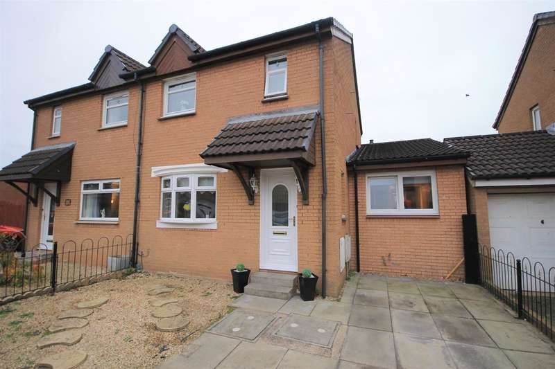 4 Bedrooms Semi Detached House for sale in Frood Street, Motherwell