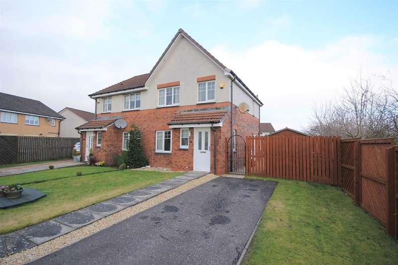 3 Bedrooms Semi Detached House for sale in Inkwood Way, Motherwell