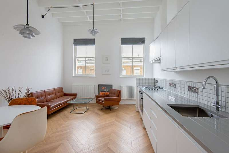 2 Bedrooms Apartment Flat for sale in Broadway Market, Hackney, London E8