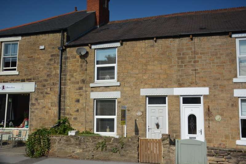 2 Bedrooms Cottage House for sale in 2 Percy Crescent, Front Street, Lanchester, Durham DH7
