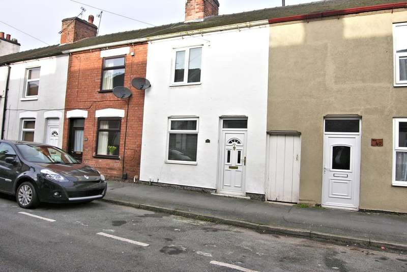 2 Bedrooms Terraced House for sale in VICTORIA TERRACE, STAFFORD ST16