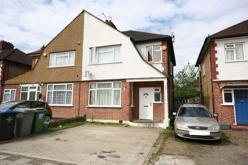 3 Bedrooms Semi Detached House for sale in First Avenue, Wembley