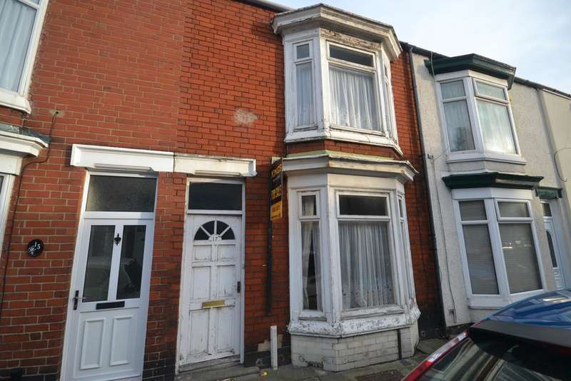 2 Bedrooms Terraced House for sale in Charlotte Street, Redcar TS10