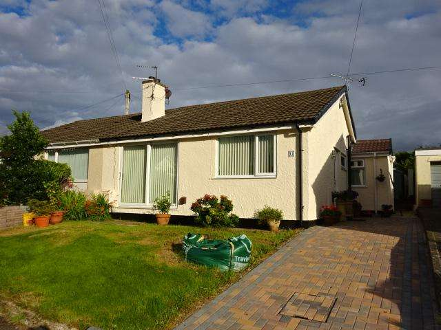 2 Bedrooms Semi Detached Bungalow for sale in PENLON, MENAI BRIDGE LL59